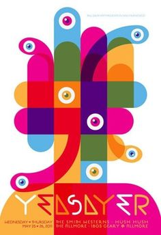 FFFFOUND! #magenta #colorful #poster #custom #type