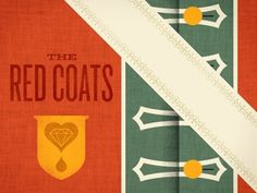 Dribbble - Red Coat by Brad Surcey #illustration #texture