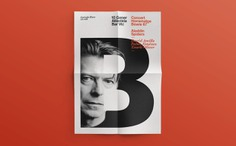 Quim Marin - David Bowie Tribute Poster
