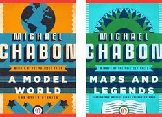 Fonts In Use – Michael Chabon E-Books for Open Road Media #cover #book