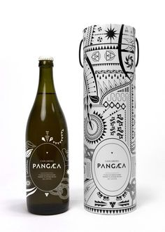 Nu206 #packaging #design #graphic #label #illustration