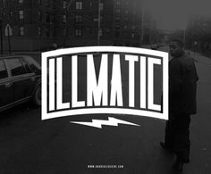 """Illmatic"" #nas #illmatic #hiphop #typography"