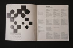 Neue Grafik (LMNV, 1958, Verlag Otto Walter) | designers books #swiss #design #graphic #book #typography