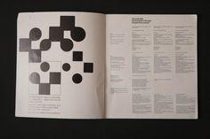 Neue Grafik (LMNV, 1958, Verlag Otto Walter) | designers books
