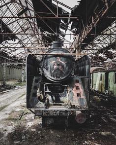 #Abandoned World: Incredible Urbex Photography by Simon Yeung