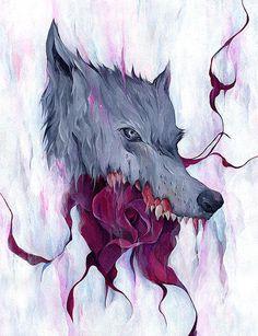 edwardcao #illustration #wolf