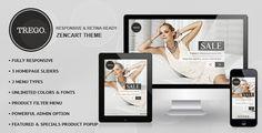Trego - Premium Responsive Zencart Theme #homepage #background #ajax #electronics #zencart #responsive #menu #theme #furniture #blog #mega #watch #fashion #slider #multistore #pet