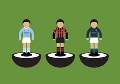 Maldesign #subbuteo #illustration #mcfc #football