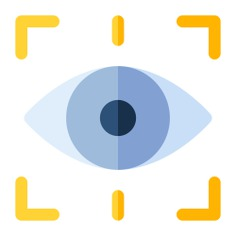 See more icon inspiration related to eye, sight, optic, observer, ui, visibility, optical, visible, view, interface and medical on Flaticon.