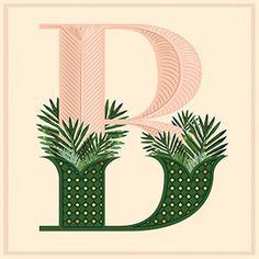The Butler Potts Point #menu #identity #food #print #B #dropcap