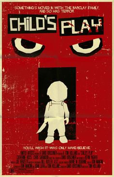 Child's Play poster by ~markwelser on deviantART #movie #horror #poster