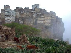 Dark Roasted Blend: The Most Alien Looking Place on Earth #architecture #urbanism #yemen #al hajarah
