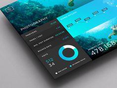 SJQHUB™ // Photography Dashboard #flat #branding #timeline #portal #ux #menu #ui #dashboard #stats #infograohic