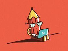 Him #illustration #vector #pencil