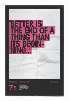 Better-is-the-end-1-10.jpg (936×1368) #asher #mindsize #eggleston #poster #typography