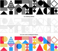 Pattern Typeface (free) on Behance