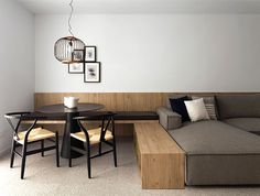 A Hint of Asian Stylistic in a Small Holiday Apartment - InteriorZine #decor #interior #home