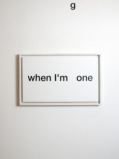 »one« by anatol knotek