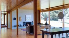 WANKEN - The Blog of Shelby White » Willapa Bay House #interior #washington #design #wood #architecture