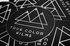 True Color Films Marco Oggian #he #rochure #illustration #poster #logo