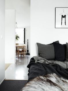 Gray on Grey #interior #design #bedroom