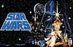 Pixel Star Wars on Behance