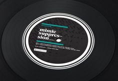 FFFFOUND! #design #black #label #record #typography