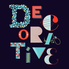 design work life » cataloging inspiration daily #blue #illustration #typography