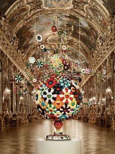 Takashi Murakami, Château de Versailles, 2010 - HOC #takashimurakami