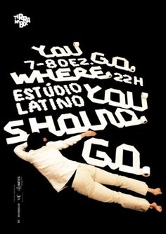 sérgio alves poster, making of - graphis gold award 2012 - typo/graphic posters