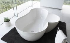White clover tub with spiritual mode #artistic #bathroom #furniture #art #bathtub