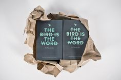 The Bird Is The Word by Lukas Nockler, Patrick Musil & Branded #design #graphic #book #bird