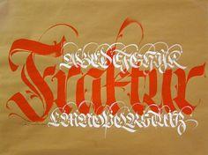 Luca Barcellona | Defgrip #calligraphy #type #barcellona #luca