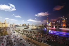 Day to Night Continued by Stephen Wilkes | Who Designed It? #shanghai #city #night #scenery #wilkes #day #stephen #to