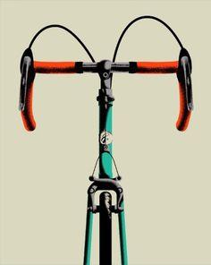 Baubauhaus. #illustration #bike