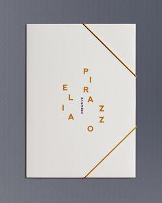 Elia Identity on Branding Served #stationary #book #branding #typography