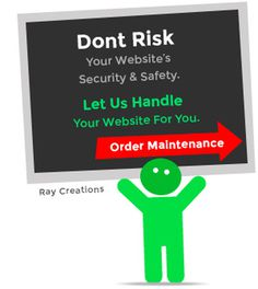 Order website maintenance graphic #website #maintenance