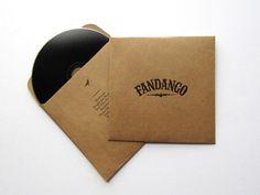 Fandango Record on the Behance Network #album #cover #record #case #music #paper