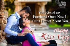 Happy Kiss Day my love