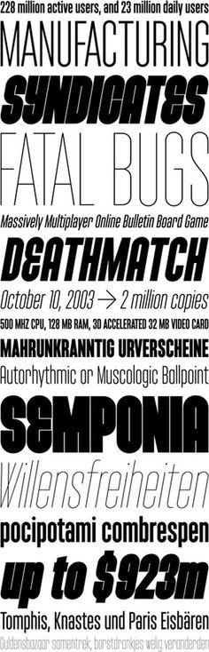 Monopol by Tomáš Brousil #suitcase #serif #sans #condensed #type #typography