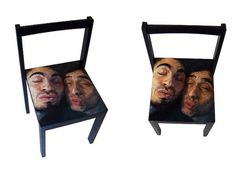 Besaculos | Flickr - Photo Sharing! #chair #illustration #painting #furniture