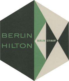 Berlin Hilton, Berlin (107mm × 91mm) | Flickr Photo Sharing! #type #layout #logo