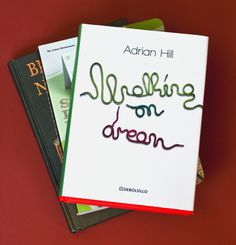 Walking On Dream | Typography-Lettering #cords #lettering #book #cover #editorial #typography