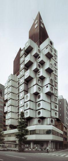 Tokyo – Nakagin Capsule Tower #nakagin #capsule #architecture #japan