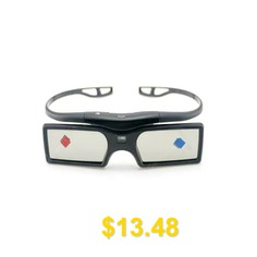 G15 #- #DLP #Active #Shutter #3D #Glasses #- #BLACK