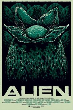 Sci-Fi-O-Rama / Science Fiction / Fantasy / Art / Design / Illustration #alien #movie #vintage #poster