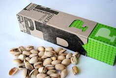 Pistachio Packaging #packaging #print #letterpress #pistachio