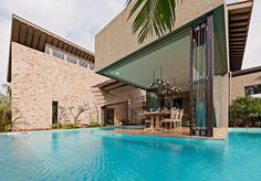 Indian Monsoon Retreat Enhancing the Feeling of Freedom #india #architecture #retreat