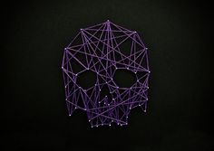5643121873_597f133354_z.jpg 640×455 pixels #violet #skull #geometric