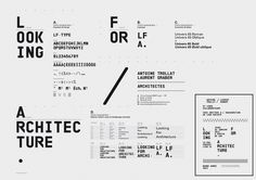 Superscript² / Looking For Architecture #identity #branding #typography